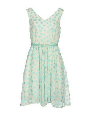 Платье до колена DARLING London. Цвет: белый