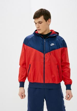Ветровка Nike M NSW SPE WVN LND WR HD JKT. Цвет: красный