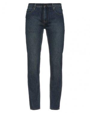 Джинсовые брюки ELEMENT. Цвет: синий