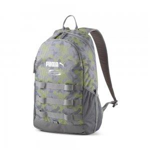 Рюкзак Style Backpack PUMA. Цвет: серый