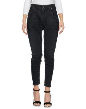Джинсовые брюки-капри DIESEL BLACK GOLD. Цвет: черный