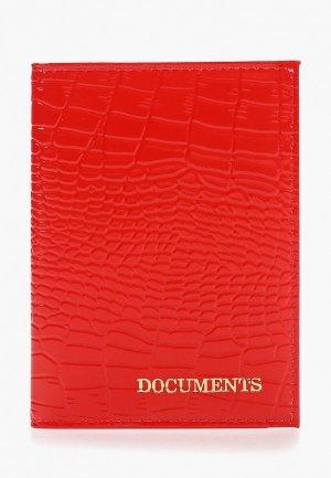 Обложка для документов Forte St.Petersburg БВЗЖ. Цвет: красный