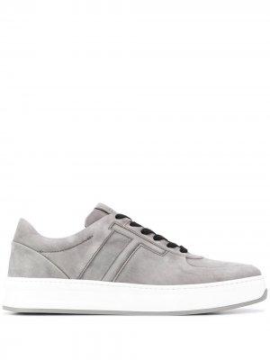 Tods кеды на шнуровке Tod's. Цвет: серый