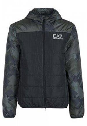 Бомбер EA7. Цвет: черный