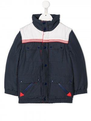 Куртка на кнопках The Marc Jacobs Kids. Цвет: синий