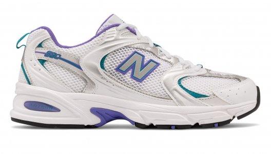 Кроссовки Mens Athlertic Footwear New Balance. Цвет: белый