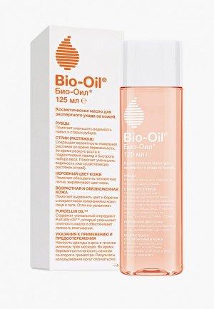 Масло для тела Bio Oil косметическое от шрамов растяжек неровного тона, 125мл. Цвет: прозрачный