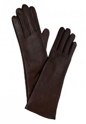Перчатки LUISA SPAGNOLI. Цвет: коричневый