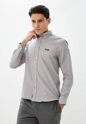 Рубашка Galvanni. Цвет: серый