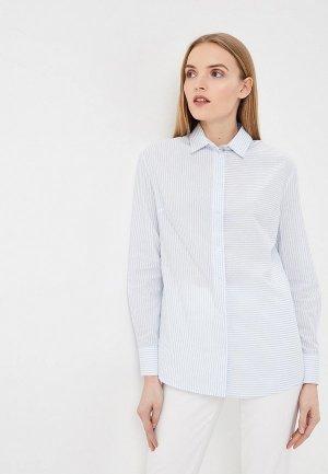 Рубашка Terekhov Girl. Цвет: голубой