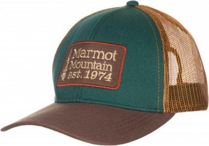 Бейсболка Retro Marmot. Цвет: зеленый