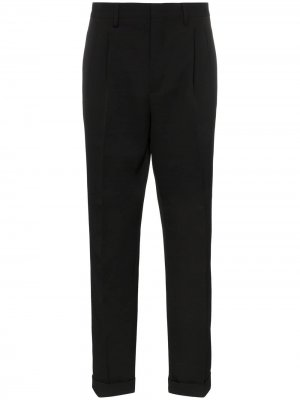 Классические брюки с боковыми полосками Calvin Klein 205W39nyc. Цвет: черный