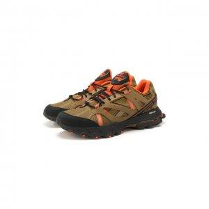 Кроссовки DMX Trail Shadow Reebok. Цвет: коричневый