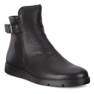 Ботинки высокие BELLA ECCO. Цвет: черный
