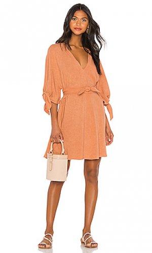 Платье-туника kara Indah. Цвет: оранжевый