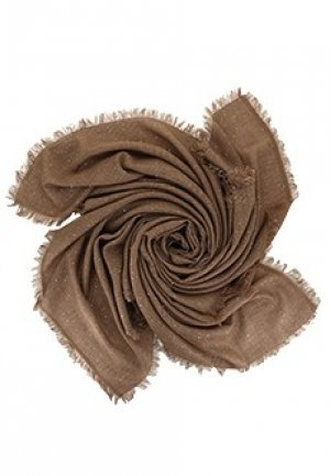Палантин PESERICO. Цвет: коричневый