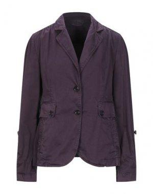 Пиджак HENRY COTTON'S. Цвет: фиолетовый