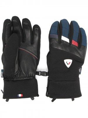Перчатки Strato Impr Rossignol. Цвет: синий