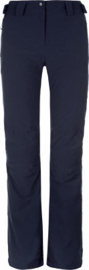 Брюки утепленные женские IceMania, размер 42-44 Salomon. Цвет: синий