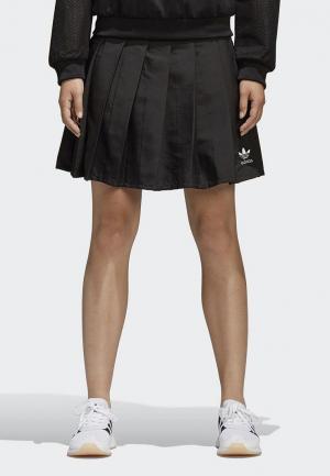 Юбка adidas Originals CLRDO SKIRT. Цвет: черный