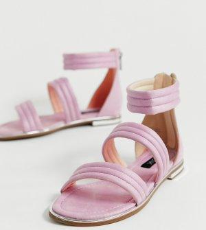 Сандалии с ремешками -Розовый Blink