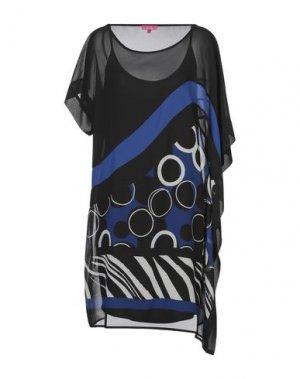 Короткое платье ÉCLÀ. Цвет: синий