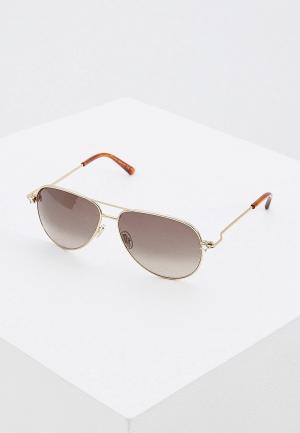 Очки солнцезащитные Jimmy Choo SANSA/S J5G. Цвет: золотой