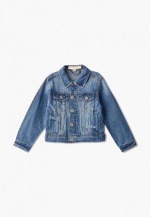 Куртка джинсовая Modis. Цвет: голубой