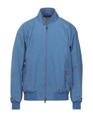 Куртка BARACUTA. Цвет: пастельно-синий