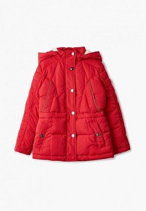 Куртка утепленная Finn Flare. Цвет: красный
