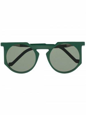 Солнцезащитные очки WL0026 VAVA Eyewear. Цвет: зеленый