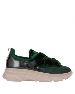 Высокие кеды и кроссовки 181 by ALBERTO GOZZI. Цвет: зеленый