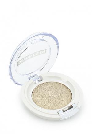 Тени для век Seventeen компактные, тон 06 Extra Sparkle Shadow золотая пыль. Цвет: золотой
