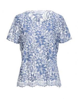 Блузка ANNA RACHELE JEANS COLLECTION. Цвет: синий