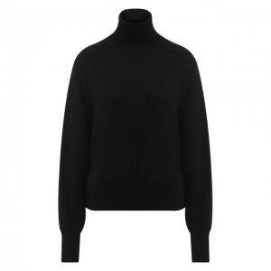 Кашемировый пуловер с высоким воротником Chloé. Цвет: чёрный