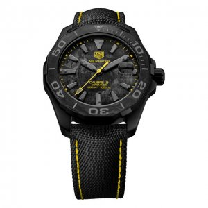 Часы Calibre 5 TAG Heuer. Цвет: чёрный