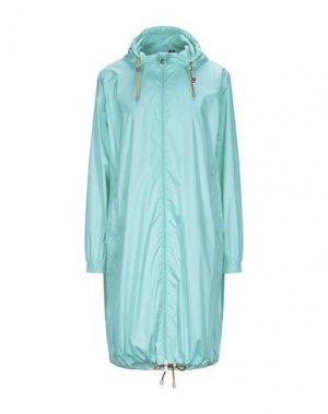 Легкое пальто K-WAY. Цвет: бирюзовый