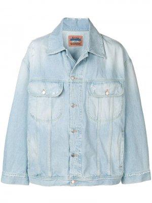 Джинсовая куртка Peppeur Acne Studios. Цвет: синий