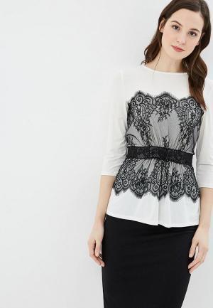 Блуза Argent. Цвет: белый