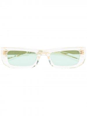 Солнцезащитные очки Bricktop FLATLIST. Цвет: нейтральные цвета