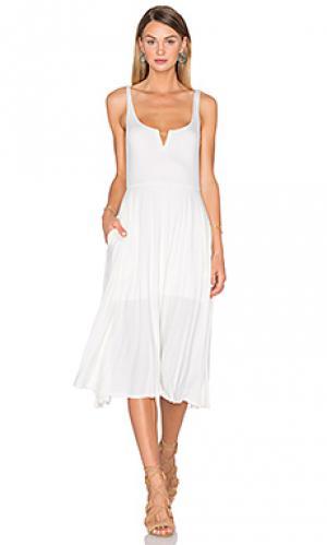 Платье-майка House of Harlow 1960. Цвет: белый
