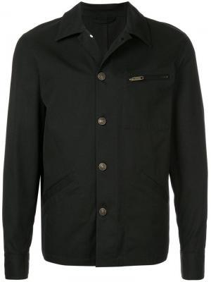 Куртка на пуговицах Cerruti 1881. Цвет: черный