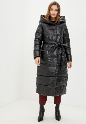 Куртка утепленная Mamma Mia. Цвет: черный