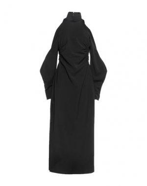 Длинное платье CAMILLA AND MARC. Цвет: черный