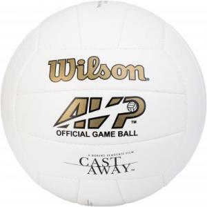 Мяч для пляжного волейбола CASTAWAY Wilson. Цвет: белый