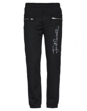 Повседневные брюки JUST CAVALLI. Цвет: черный