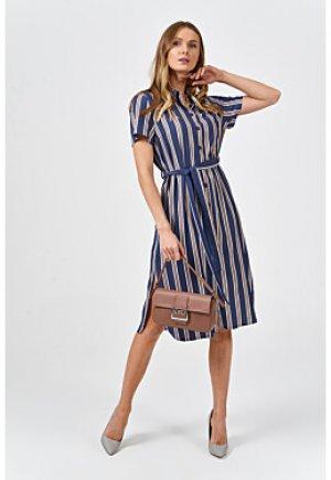 Платье-рубашка с короткими рукавами Снежная Королева collection