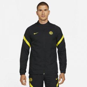 Мужской футбольный костюм Dri-FIT Chelsea FC Strike - Черный Nike