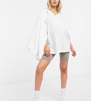 Базовые шорты-леггинсы от комплекта ASOS DESIGN Maternity-Коричневый Maternity