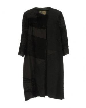 Легкое пальто BY WALID. Цвет: стальной серый